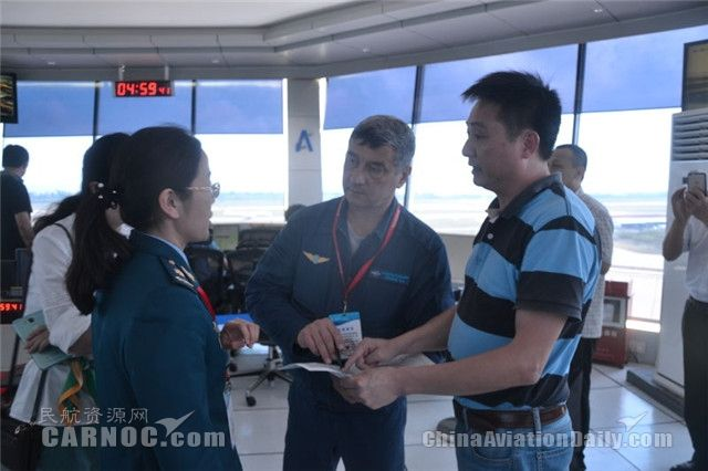 珠海塔台保障中俄飞行表演队航展调机任务