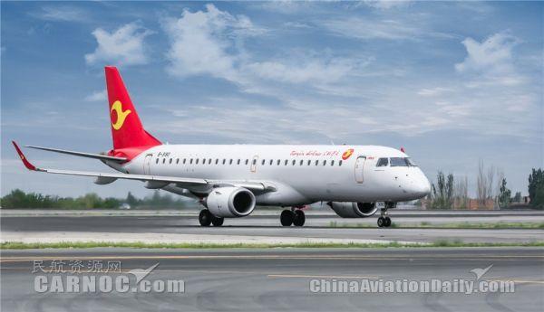 喜迎春节 天津航空重开西安=银川航线