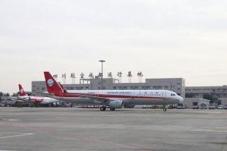 随着新机的加盟,川航机队规模升至112架 (摄影:曹星宇)