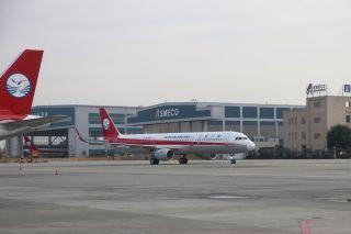 10月29日上午,川航迎来第112架飞机 (摄影:曹星宇)