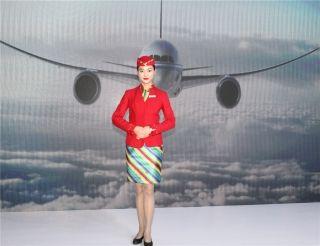 西藏航空乘务员形象展示 (摄影:白新宇)
