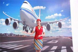 西藏航空乘务员形象展示 (摄影:谷强)