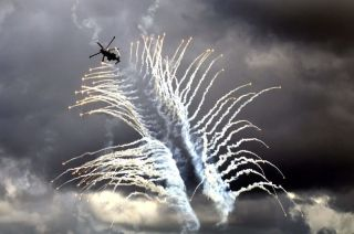 珠海航展上的飞行表演 (摄影:@红包)