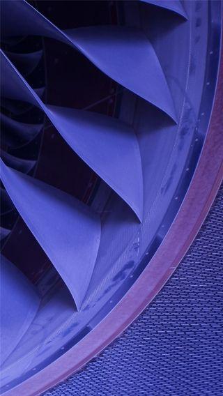 """图:空客A350飞机发动机。民航图库图片,摄影:民航资源网网友""""跑道28""""。浏览作者图库原帖《[原创]A350XWB环球路演北京站 @ Ameco Beijing》。 (摄影:跑道28)"""