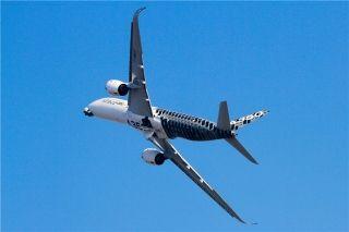 空客A350飞行表演 摄影:cowboy