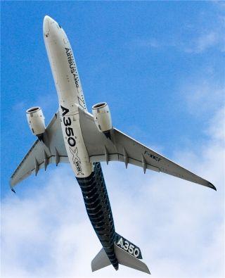 空客A350飞行表演