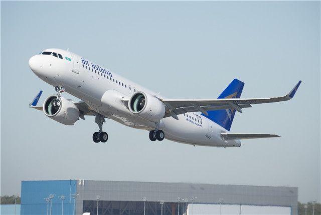 阿斯塔纳航空接收首架A320neo 为独联体首家