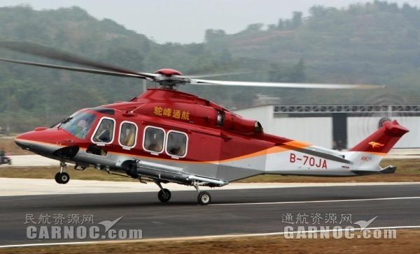江西昌河阿古斯特直升机保障AW135安全运营