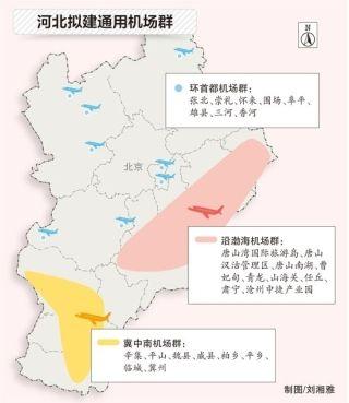 华北局对河北平乡通用机场场址进行现场审查