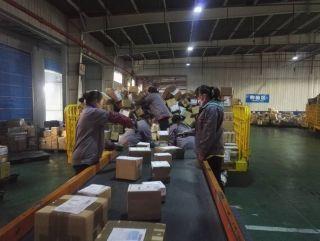 双11海淘货量激增  天津机场国际快件迎来挑战