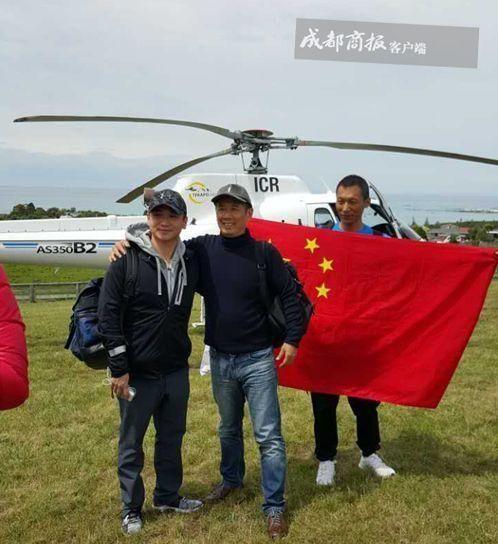新西兰地震后 中国包下所有可用直升机撤离同胞