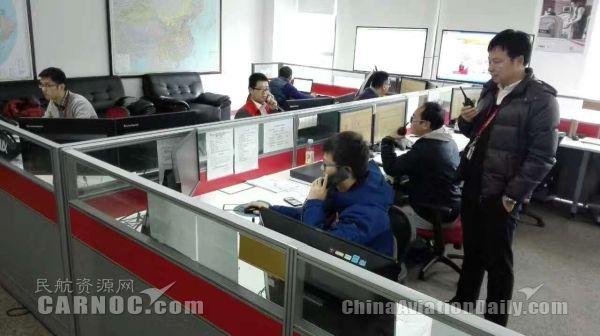 北京首降雪 海航技术高效除冰保障航班运营