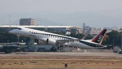 日本第四架MRJ样机启程赴美 此前多次推迟交付