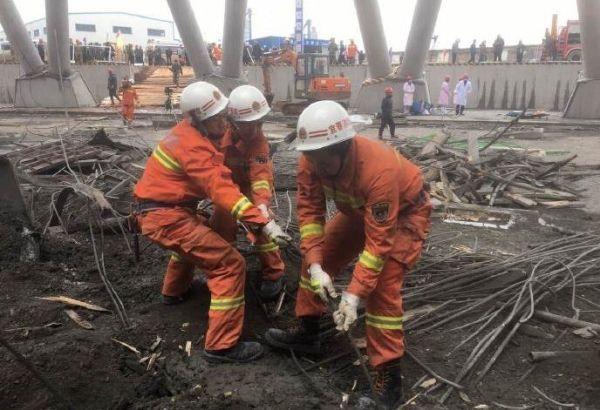 江西在建电场坍塌已致40人遇难 无人机出动救援