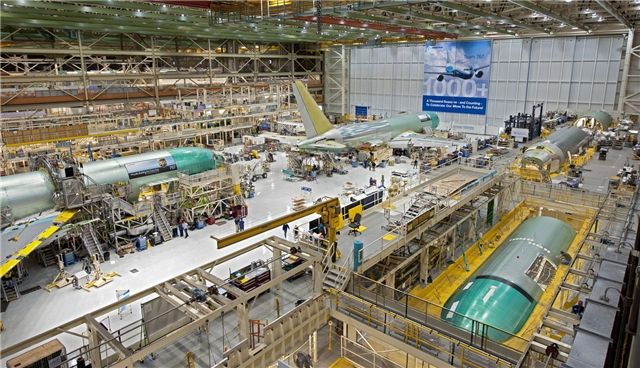波音767生产线