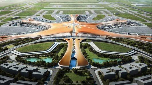 去北京新机场方便吗?登机步行时间不到8分钟