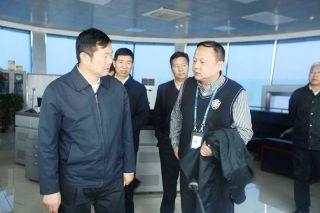 李健副局长一行莅临青海空管检查指导工作