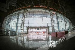 VR看建设中的重庆机场T3A是什么感觉?
