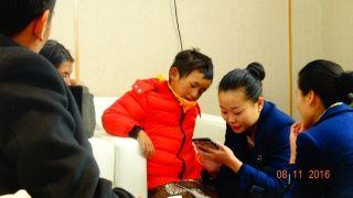 西藏航空拉萨地服保障患病儿童旅客
