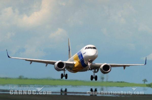 巴航工业向天航交付第1300架E-系列喷气飞机