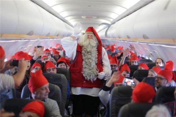 """玩转圣诞营销 国外航空公司有""""奇""""招"""