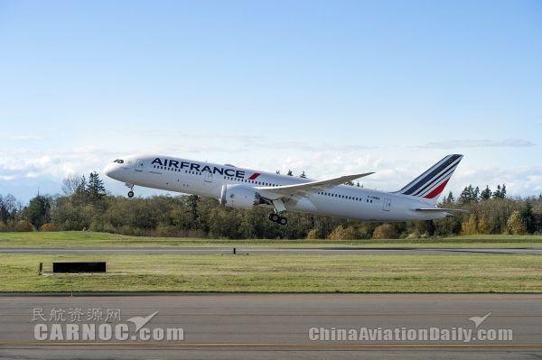波音产第500架787梦想飞机交付