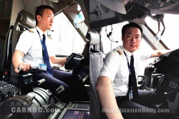 """会飞的""""段子手"""":记厦航787机型机长王琪玮"""