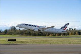 法国航空接收首架787梦想飞机 波音第500架