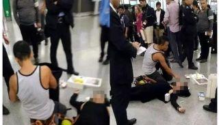 消防员香港机场救人 台陆委会:死者是台湾人