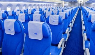 Economy Class of Xiamen Airlines Boeing 787-9