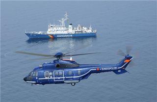 德联邦警察局购三架H215直升机 2019年交付
