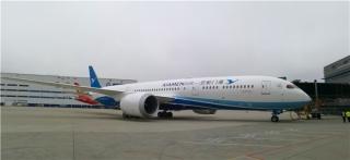 金砖梦想号 厦航首架波音787-9飞机来啦