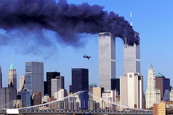 美国纽约的双子塔