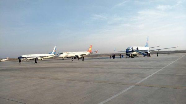 库车机场全力做好备降航班保障