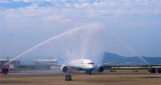 厦航首架波音787-9飞机 摄影:贺晟