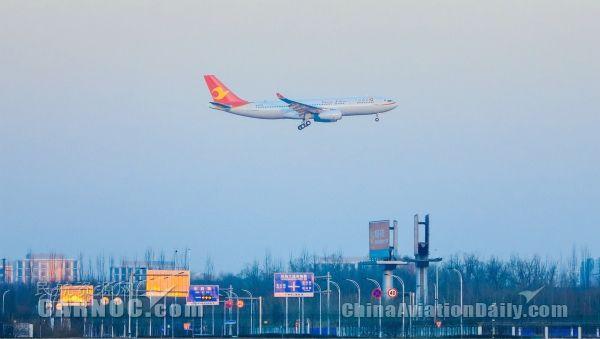 天津航空2016年旅客运输量突破1200万