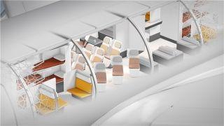 百变客舱内饰 空客模块化客舱概念想变就变