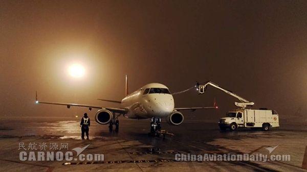 连日雾霾 天津机场积极应对
