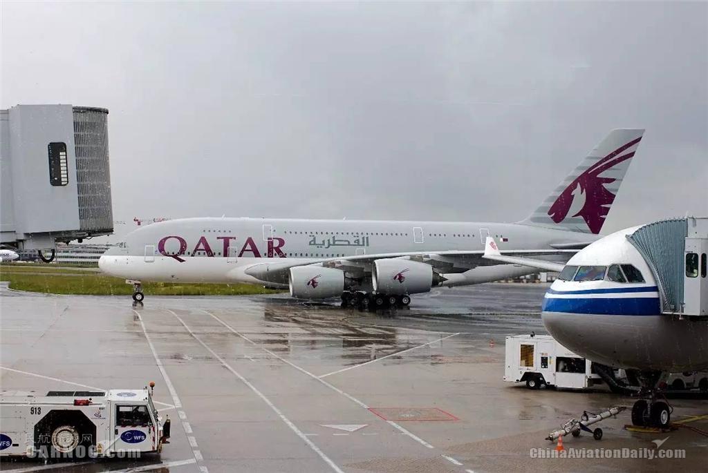 A380环球之卡航经济舱:座椅舒适服务很好