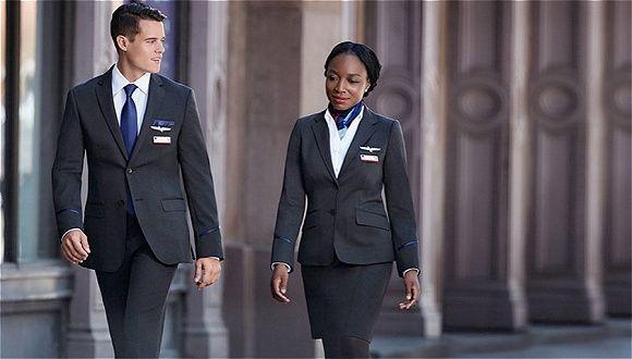杯具!新制服让人眩晕 美航让员工穿回老制服