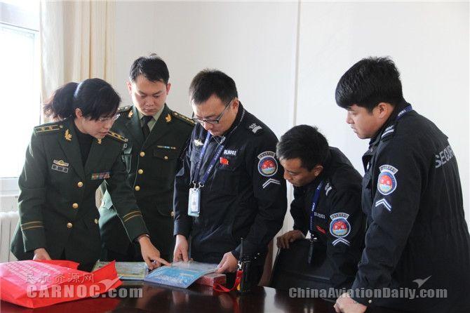 德令哈机场联合消防支队开展消防灭火演练