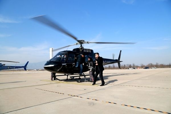 首航直升机2016安全运行3100小时、8100架次