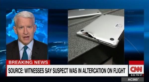 美国机场枪击案一男子因Mac电脑挡弹幸存