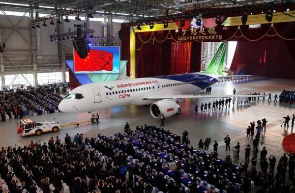 C919国产大型客机计划2月首飞 订单已达570架