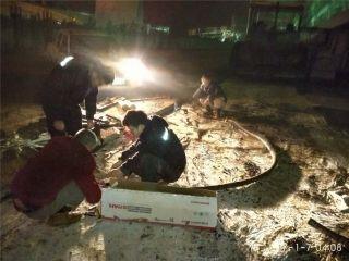 电缆被挖断 武汉机场动力废寝忘食排查抢修