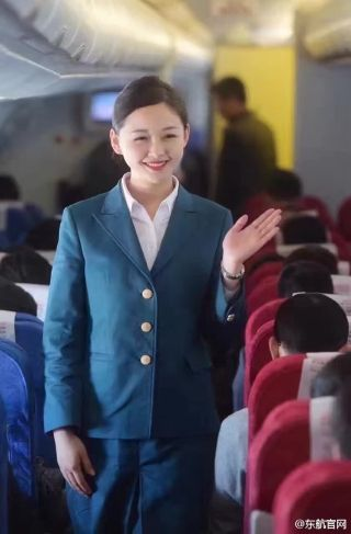 Style in the Aisle: The 60-Year Evolution of China Eastern Uniforms/Photo by China Eastern Airlines