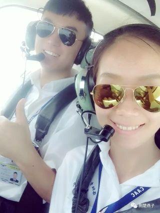 90后美女飞行学员朱晨即将加入东航武汉公司飞行部/荆楚燕子图