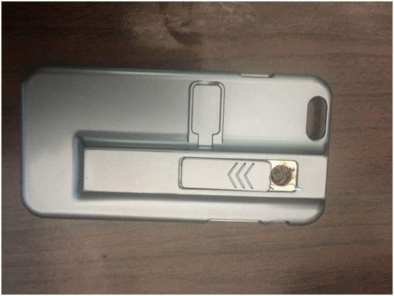 呼伦贝尔机场查获手机壳式点烟器