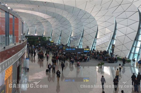 沈阳机场开启2017年春运服务保障工作