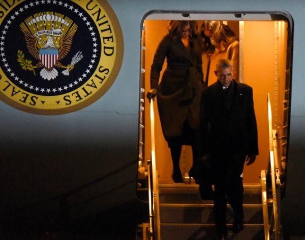 再见,空军一号!奥巴马任期共乘坐专机445次